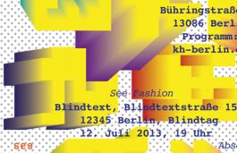 Golnar Kat Rahmani Open Gallery Day (Rundgang) ––– Academy of Art Berlin Weißensee